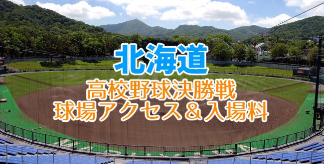 北海道高校野球決勝戦