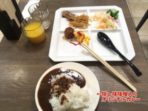 三交イン沼津駅前の朝食カレー