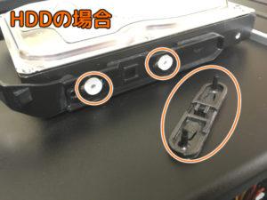 HDDのマウンタ接続